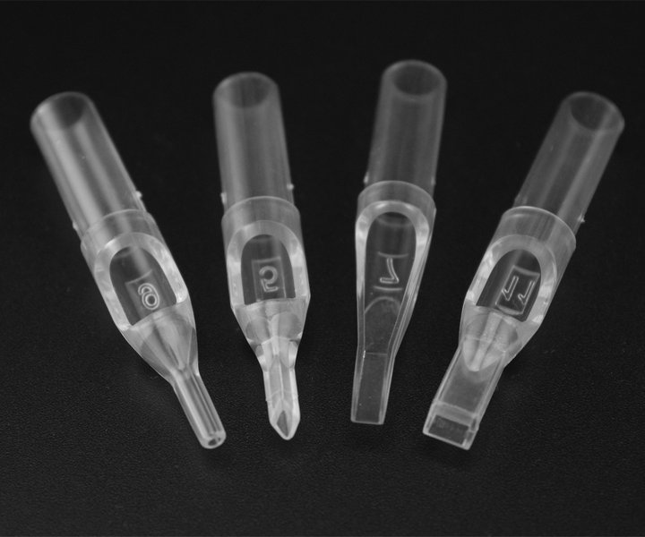 Hot Sale Short Clear Tattoo Disposable Tips